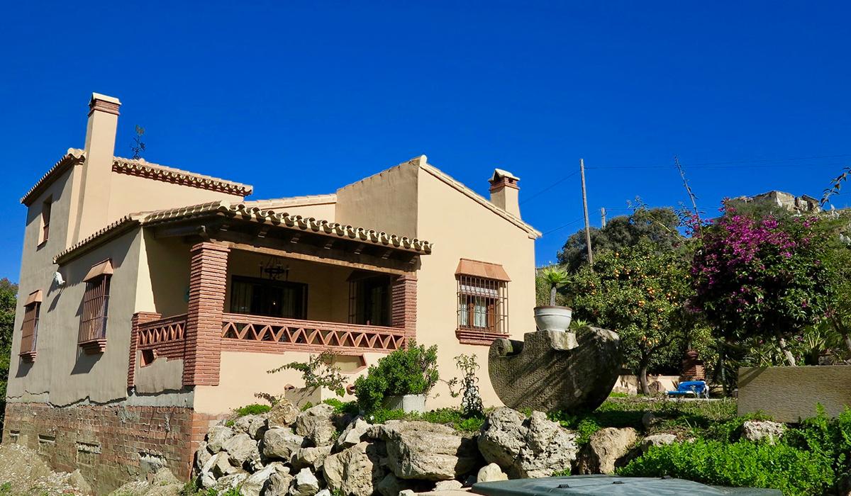 Casa en Río Pereila, Coín, Málaga (parcela 2.300 m2)