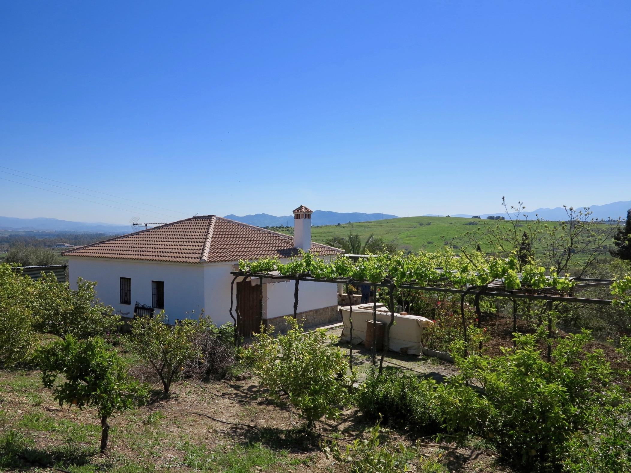 Casa de campo en Rio Grande Moraila, Cártama, Málaga