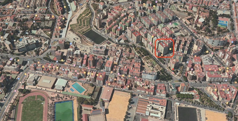 Piso de tres dormitorios en Nueva Málaga