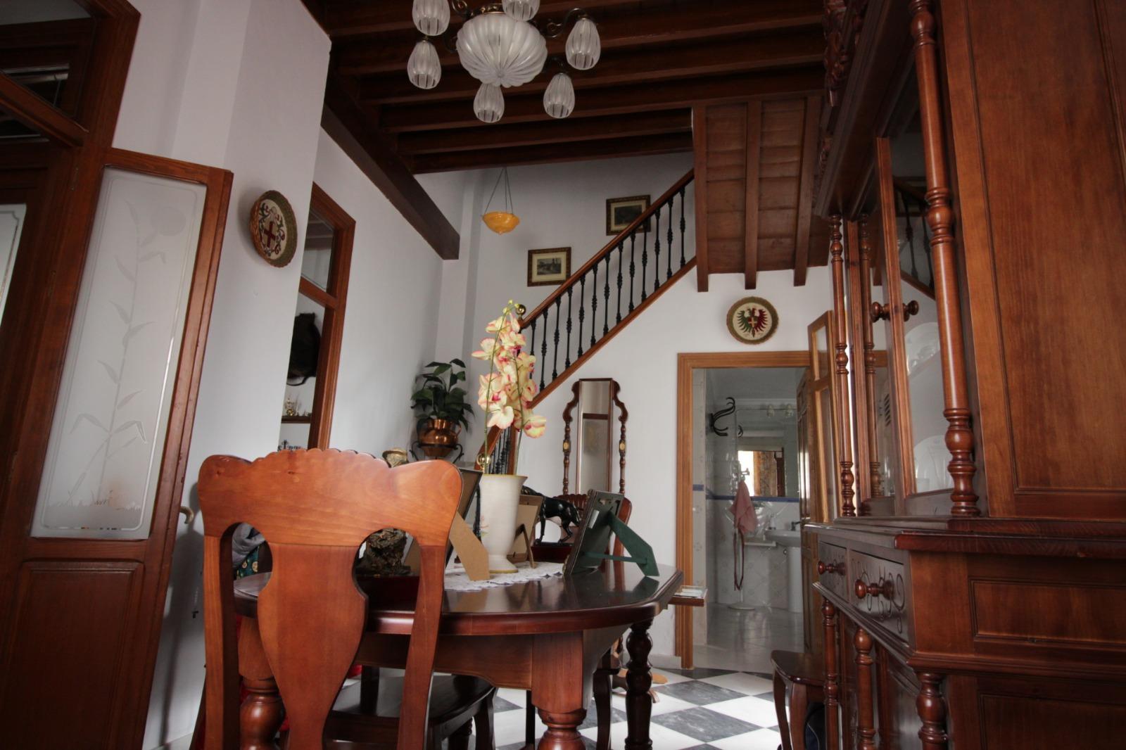 Casa tradicional en el centro histórico de Coín, Málaga.